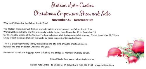 Station Emporium Show & Sale