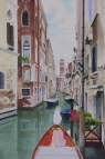 "Venice 2015. Watercolour on Paper. 15x22"". Commissioned. Artist Lianne Todd."