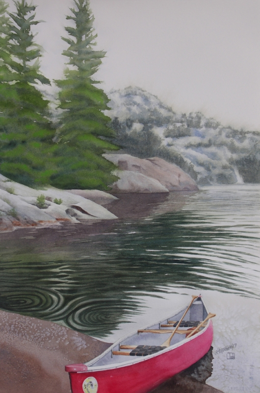 Red Canoe, Killarney, Lianne Todd