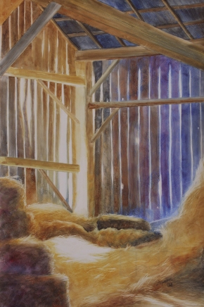 "A Place for Lofty Thoughts. Watercolour on Gessoed Paper. 15x22"". Lianne Todd. $450.00"