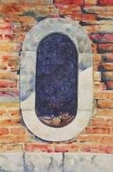 """Kittens of Venice. Watercolour on Gessoed Paper. 15x22"""". Artist Lianne Todd. $475."""